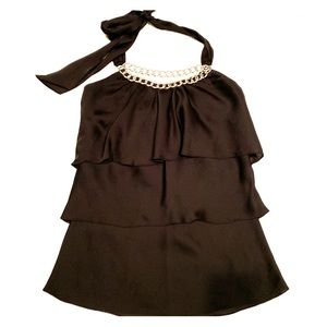 White House/Black Market halter blouse